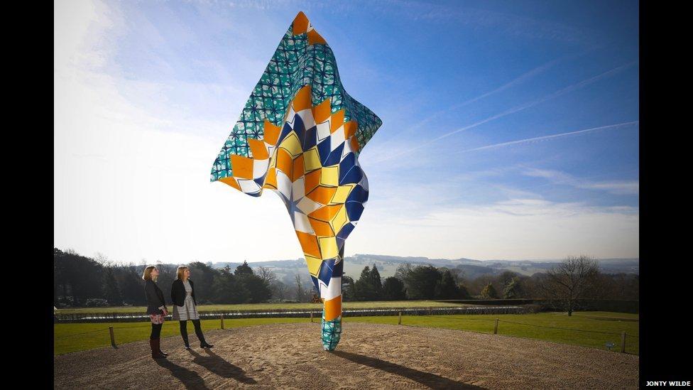 Yinka Shonibare Wind Sculpture