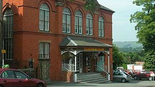 The Albert Hall in Llandrindod Wells