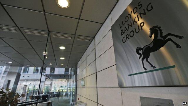 Lloyds TSB headquarters in London