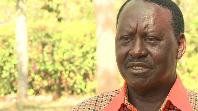 Prime Minister Raila Odinga