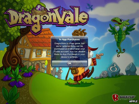 Dragonvale consumer warning