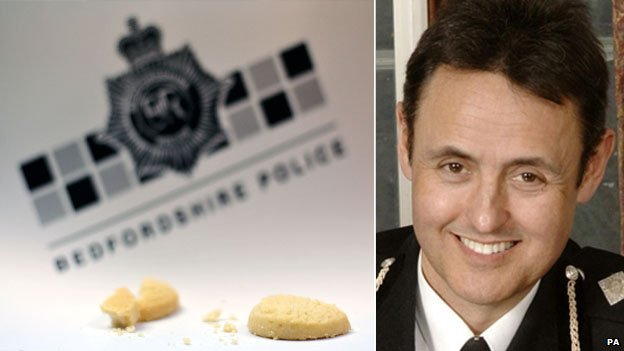 Broken biscuits and Chief Constable Alf Hitchcock