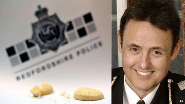 Broken biscuits and Chief Constable Alf Hitchcock