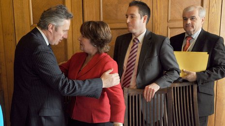 Ian Paisley Jr and Rosemary Dana Scallon,