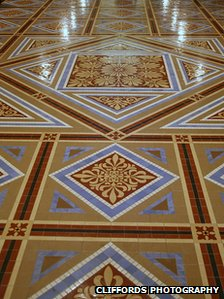 National Portrait Gallery Smithsonian Institute floor