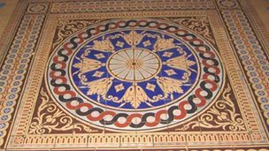 Capitol building floor