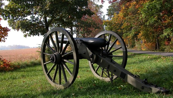 Historical artefacts remain on the battlefield at Gettysburg