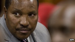 Ferdinand Waititu in court in September 2012
