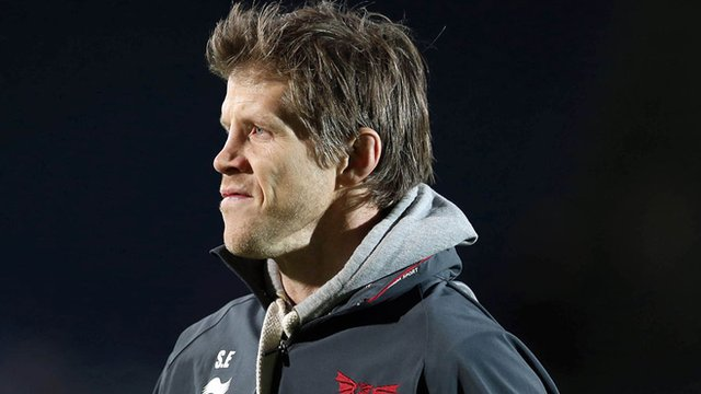 Scarlets head coach Simon Easterby