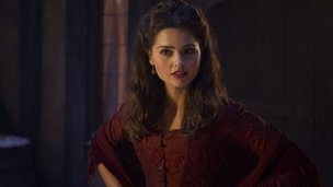 Actress Jenna-Louise Coleman in Doctor Who Christmas special