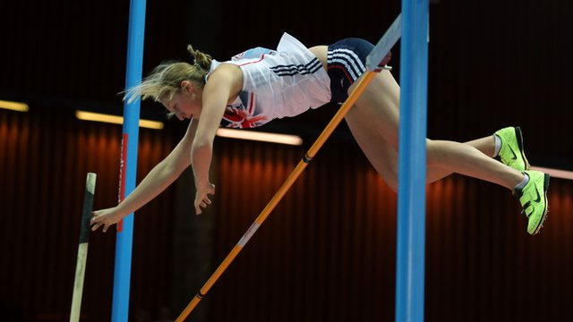 Britain's Holly Bleasdale