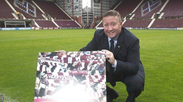 Hearts legend John Robertson