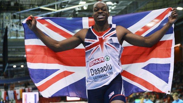 Britain's James Dasaolu