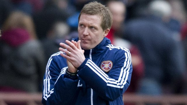 Hearts interim manager Gary Locke