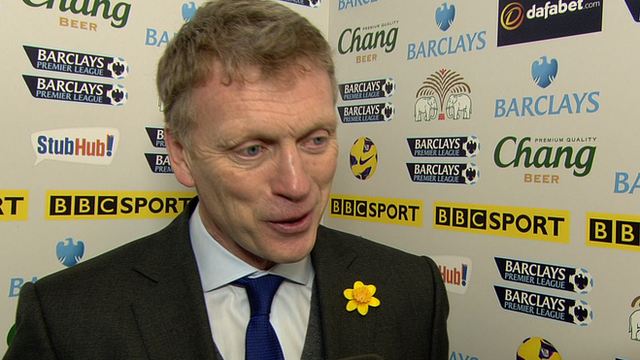 Everton manager David Moyes