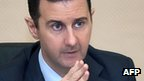 President Bashar al-Assad in Damascus. 12 Feb 2013