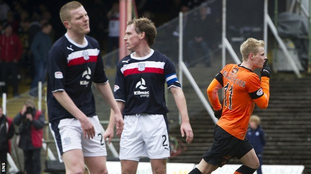 Dundee and Dundee United players