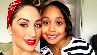Lisa Mason with her daughter