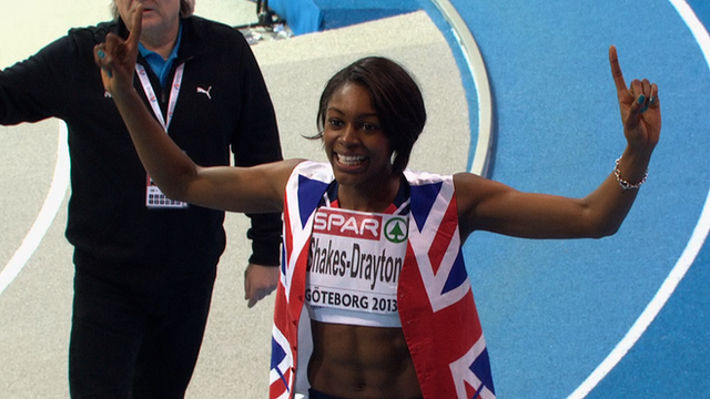 400m European Indoor Champion Perri Shakes-Drayton