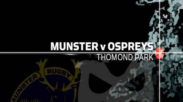 Munster v Ospreys