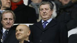 England boss Roy Hodgson at White Hart Lane