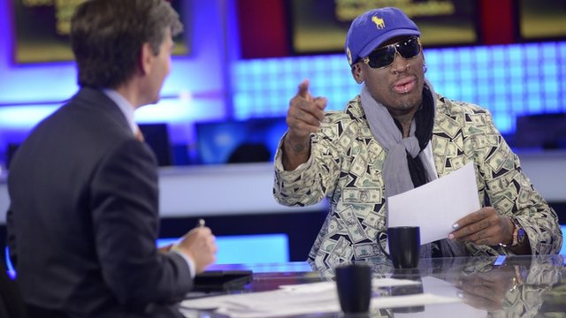 Dennis Rodman on ABC&#039;s This Week with George Stephaopoulos