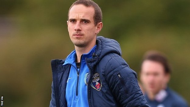 Bristol Academy boss Mark Sampson