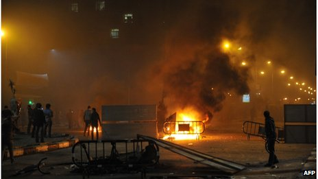 Clashes in Port Said (03/03/13)