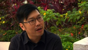 Straits Times reporter Stanley Ho
