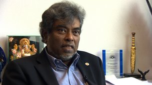 Lawyer Subhas Anandan in Singapore