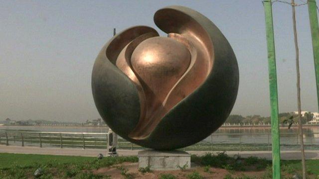 Jeddah 39 s contemporary art scene bbc news for Art cuisine jeddah