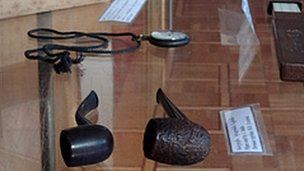 Stalin pipes in Gori museum