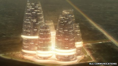 BBC News - Ghana's John Mahama launches Hope City project