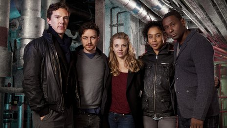 Benedict Cumberbatch, James McAvoy, Natalie Dormer, Sophie Okonedo and David Harewood