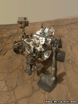 Mars rover
