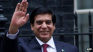 Pakistan&#039;s Prime Minister Raja Pervez Ashraf 