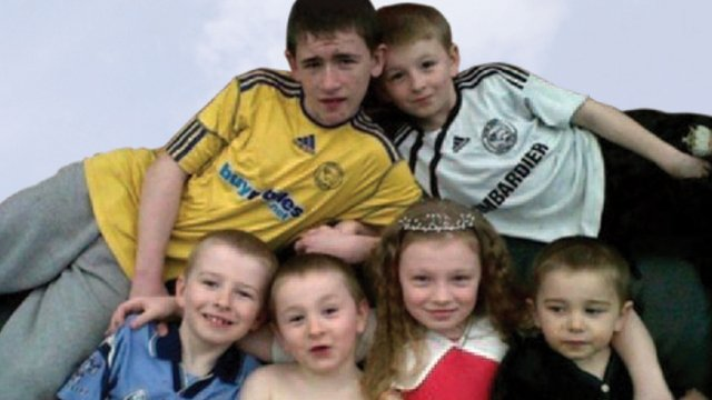 Philpott children who died in house fire
