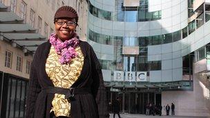 Angella Emurwon at the BBC