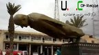 VIDEO: Syrian rebels topple Assad statue