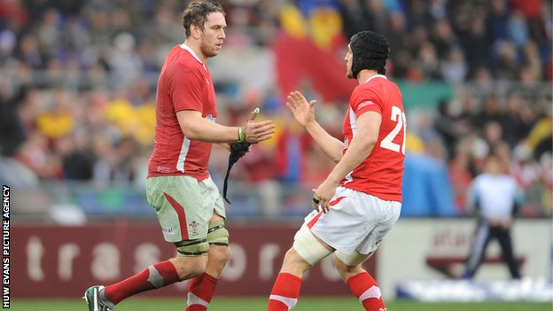 Ryan Jones and Sam Warburton