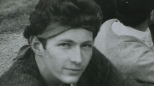 Philip Pullman as a teenager