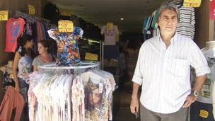 Brazilian shopkeeper Nelson Assemany