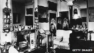 A Victorian room