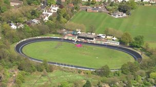 Herne hill Velodrome, South London