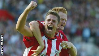 James Beattie scores for Southampton
