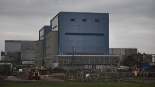 Hinkley Point A, near Bridgwater