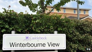 Winterbourne View site