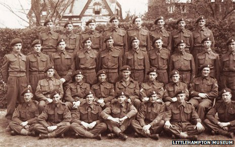 30 Assault Unit in training in West Sussex for D-Day