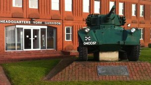 Headquarters York Garrison