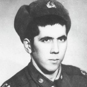 Bakhretdin Khakimov (pic courtesy of veterans' committee)